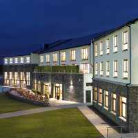 Sneem Hotel at night