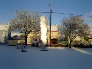 The Steel Tree in Winter