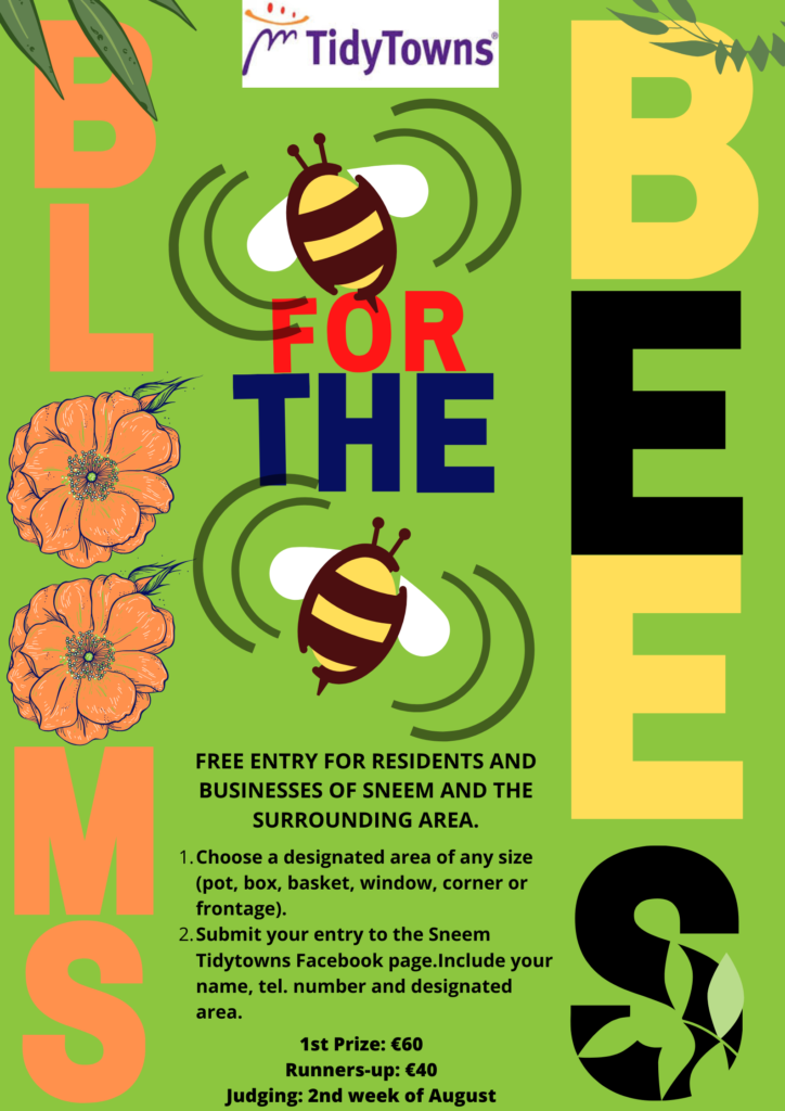 Blooms for Bees poster