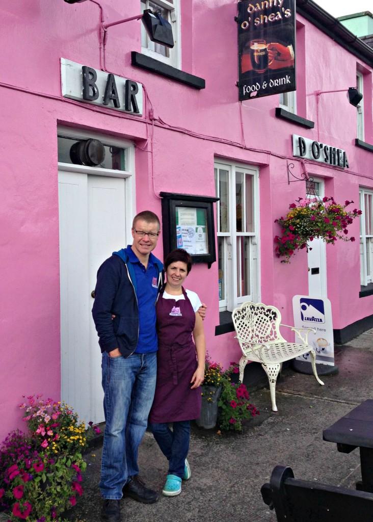 Garbhan and Mary Kavanagh of D. O'Shea's Bar