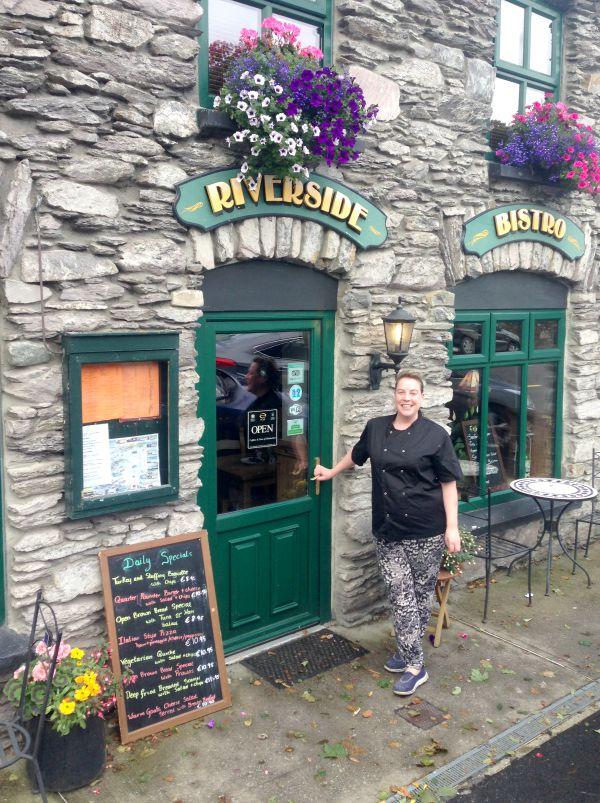 Jenny Breen of The Riverside Café